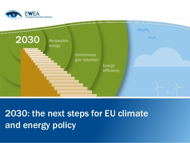 2030: the next steps for EU climate and energy policy