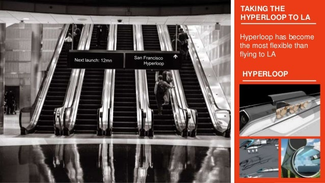 TAKING THE HYPERLOOP TO LA Hyperloop has become the most flexible than flying to LA HYPERLOOP