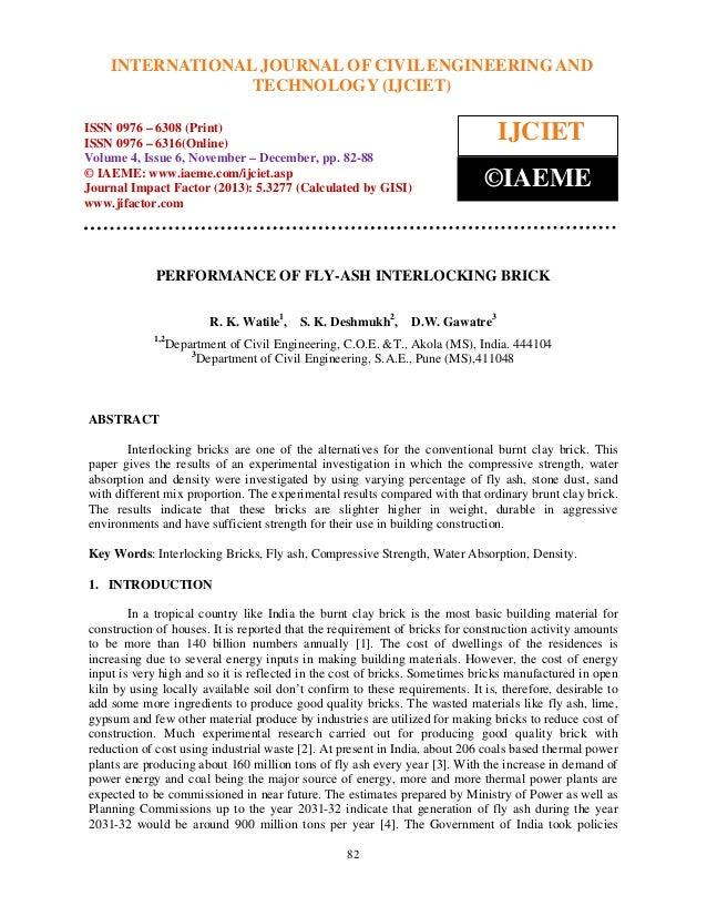 International Journal of Civil Engineering and CIVIL ENGINEERING AND6308 INTERNATIONAL JOURNAL OF Technology (IJCIET), ISS...