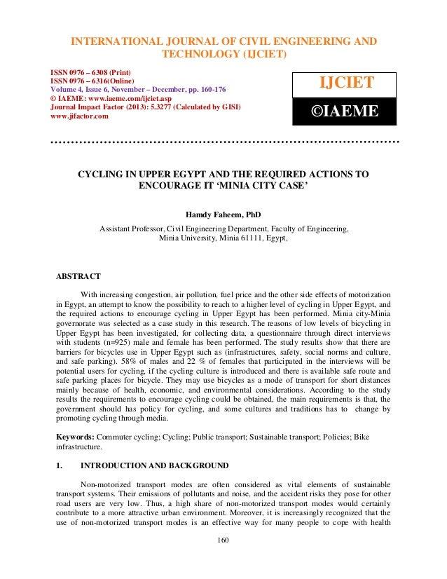 International Journal of CivilJOURNAL and Technology (IJCIET), ISSN 0976 – 6308 INTERNATIONAL Engineering OF CIVIL ENGINEE...