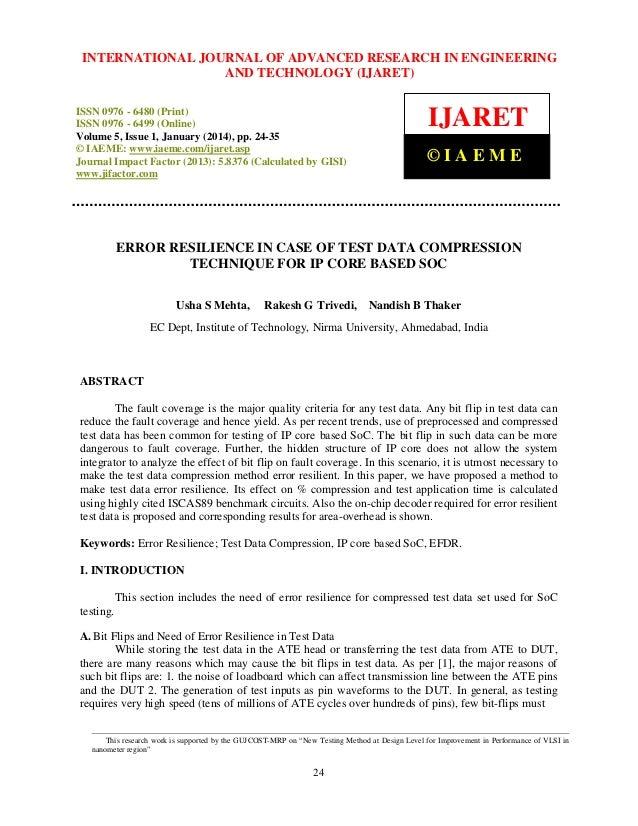 International Journal JOURNAL OF ADVANCED RESEARCH Technology (IJARET), INTERNATIONAL of Advanced Research in Engineering ...
