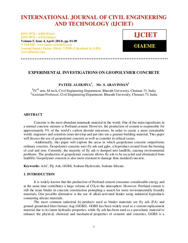 International Journal of Civil Engineering and Technology (IJCIET), ISSN 0976 – 6308 (Print), ISSN 0976 – 6316(Online), Vo...