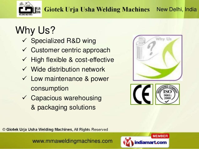 New Delhi, IndiaWhy Us?  Specialized R&D wing  Customer centric approach  High flexible & cost-effective  Wide distrib...