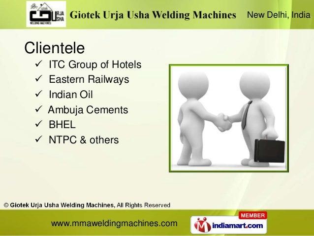 New Delhi, IndiaClientele    ITC Group of Hotels    Eastern Railways    Indian Oil    Ambuja Cements    BHEL    NTPC...