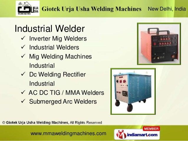 New Delhi, IndiaIndustrial Welder  Inverter Mig Welders  Industrial Welders  Mig Welding Machines   Industrial  Dc Wel...