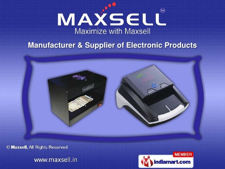 Manufacturer & Supplier of Electronic Products