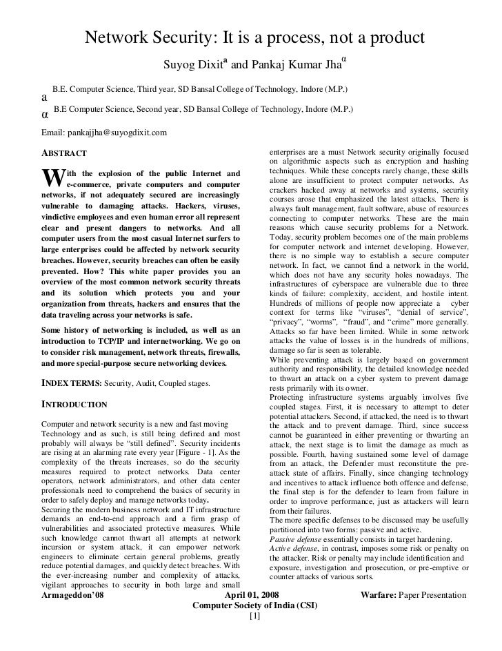 reaction paper information security essay Summary and diagnosis 5  it motivated me to pay full attention to learning as  much as i could in ecf5555  while some of the unit content was not directly  relevant to my personal goals, it still made me more knowledgeable about  economics in  leading to better infrastructure and federal economic and  banking security.