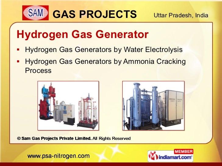 Hydrogen Gas Generator <ul><li>Hydrogen Gas Generators by Water Electrolysis </li></ul><ul><li>Hydrogen Gas Generators by ...