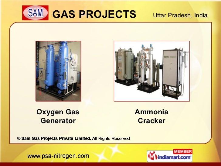 Oxygen Gas Generator Ammonia Cracker