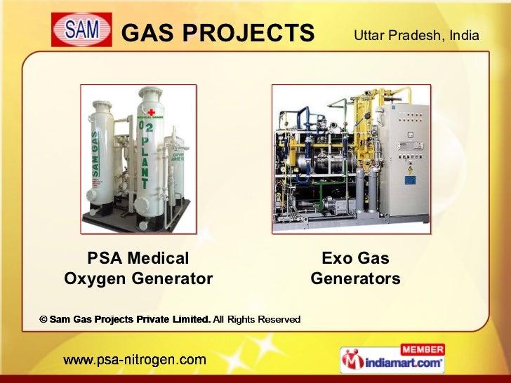 PSA Medical Oxygen Generator Exo Gas Generators