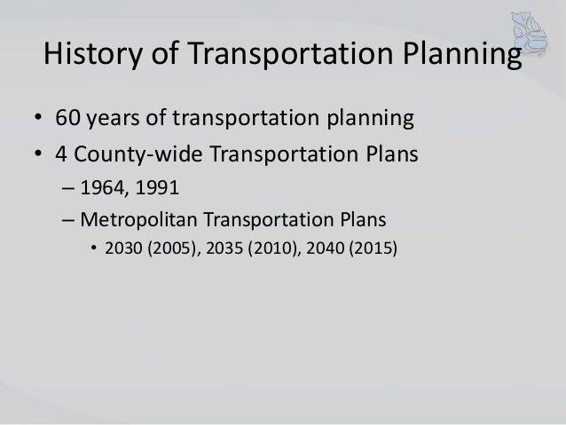2030 and 2035 Transportation Plans Review Slide 2