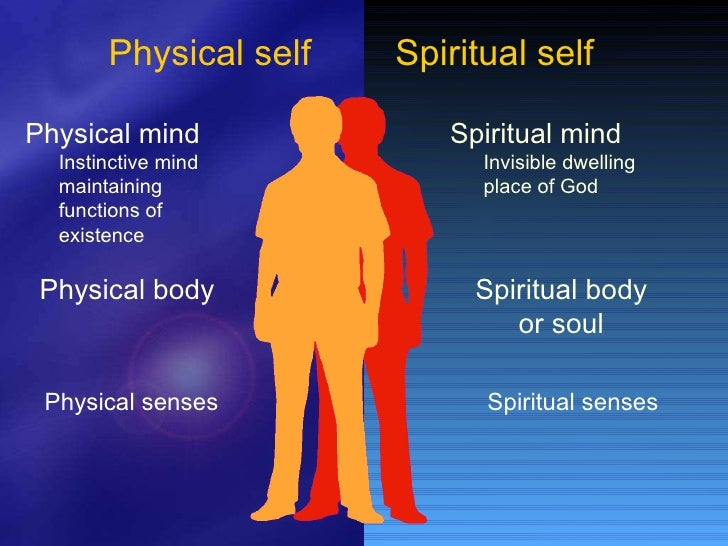 the physical and spiritual effects of The emotional / mental / physical / spiritual bodies are entwined addressing an energetic imbalance will inevitably also affect the spiritual essence of the individual let me explain how i reached this conclusion, how this affects the individual's life and why i believe that the above is indeed true.