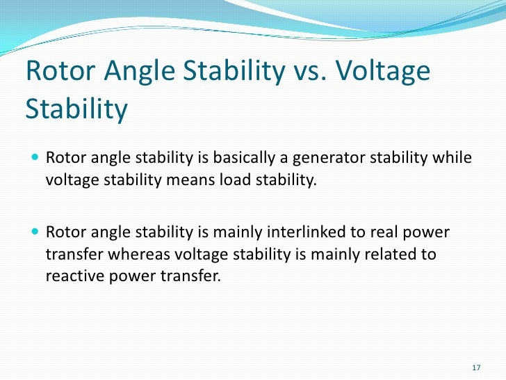 voltage stability thesis Doctoral thesis voltage stability management in malaysia power system with inverter-based distributed generator (インバータ連系型分散電源を含むマレーシアの電力系統における.