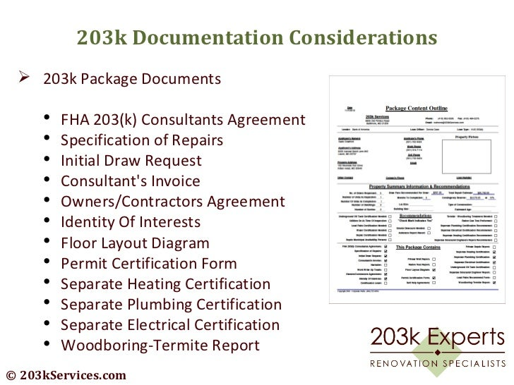 Home Renovations and Understanding the FHA 203k Financing Process