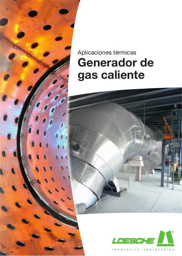 203 thermal applications hot gas generator es - Generador de gas ...