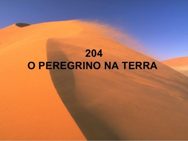 204 O PEREGRINO NA TERRA