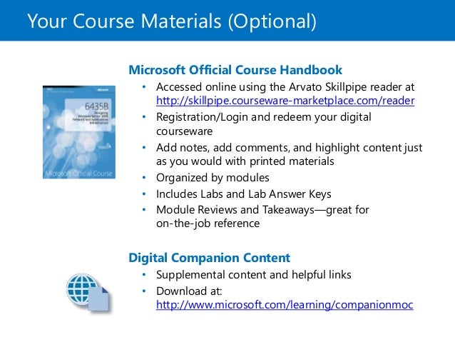 Microsoft Offical Course 20410C_00