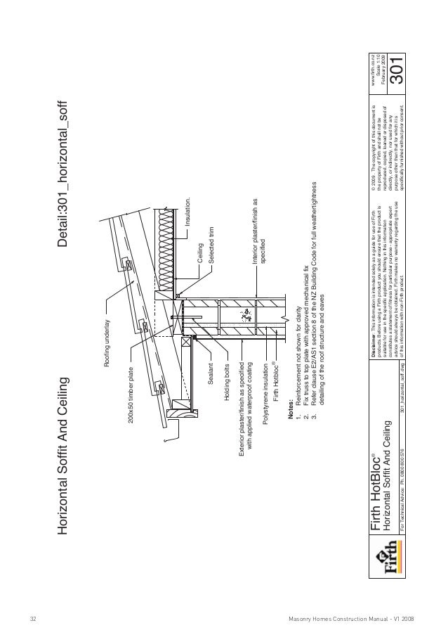 Horizontal Section Through CWFaade Construction details