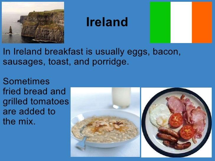 Breakfasts Around The World - Breakfast around world