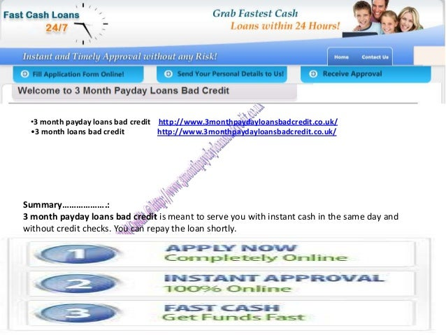3 30 days fast cash funds on line