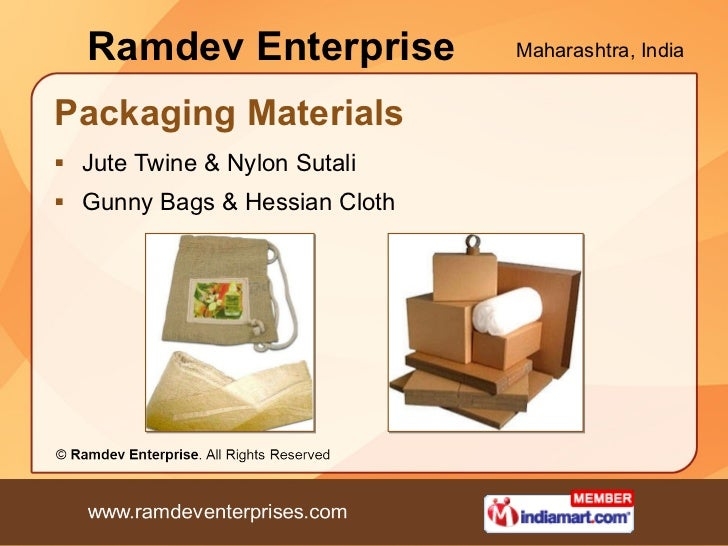 Ramdev Enterprise Maharashtra India