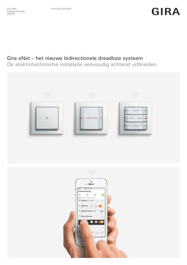 gira enet het nieuwe bidirectionele draadloze systeem. Black Bedroom Furniture Sets. Home Design Ideas