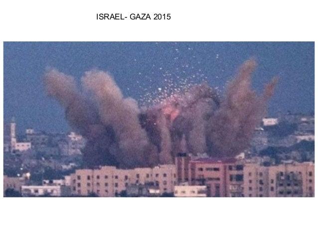 ISRAEL- GAZA 2015