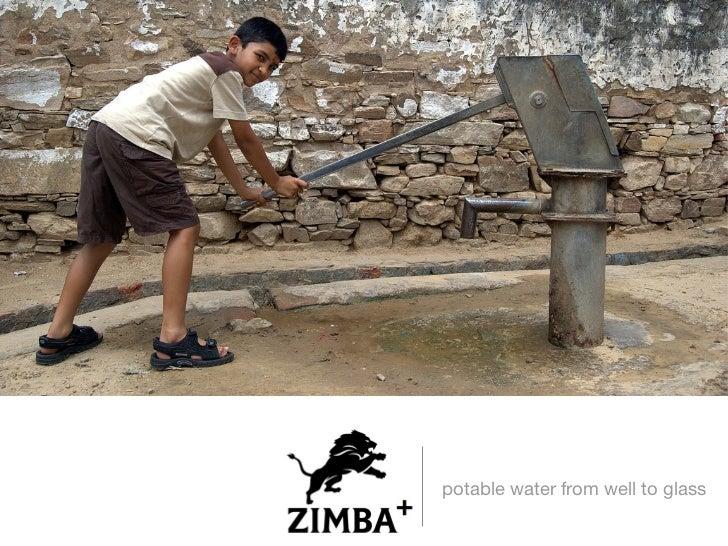 <ul><li>potable water from well to glass </li></ul>