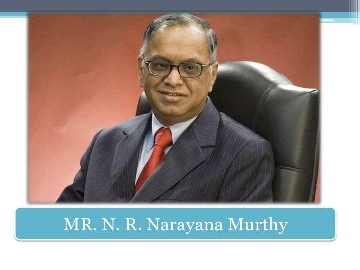 Narayana Murthy on leadership and values