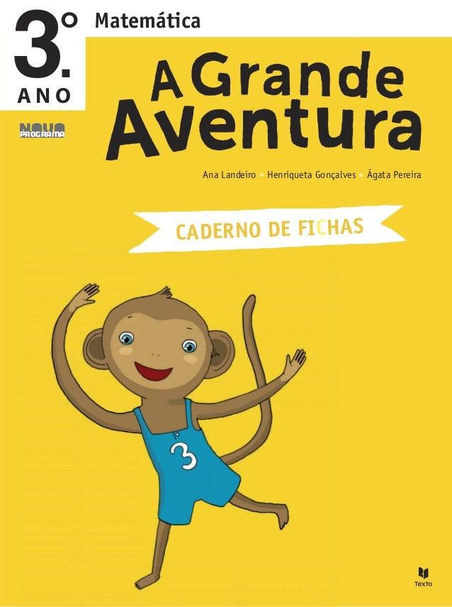 Ana Landeiro Henriqueta Gonçalves Ágata Pereira CADERNO DE FICHAS Matemática A N O NovoPrograma