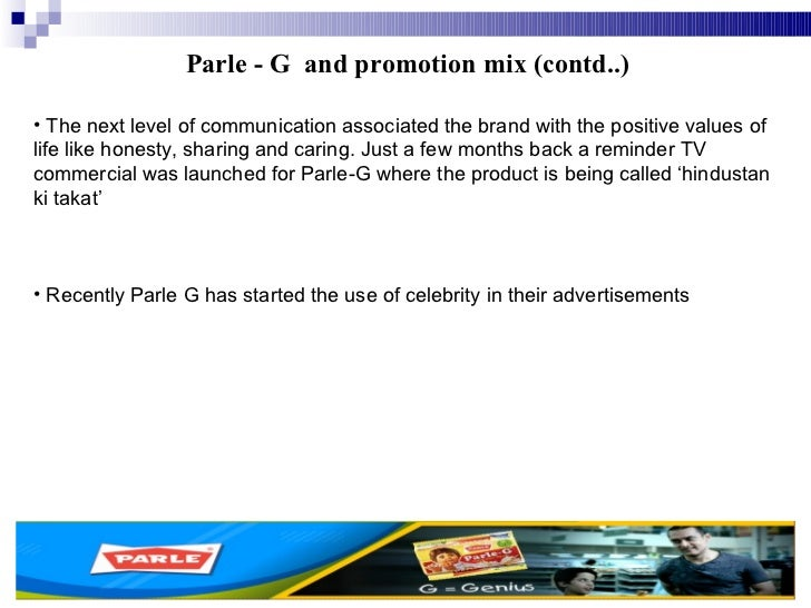 4 ps of marketing of parle g