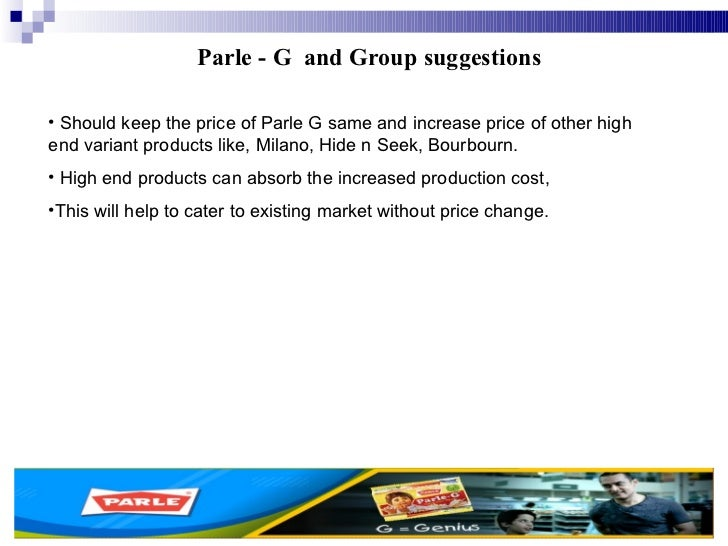 marketing mix of parle g The marketing mix of parle g shows the 4p's of parle biscuits which is one of the  most trusted names amongst indian brands and is the oldest.