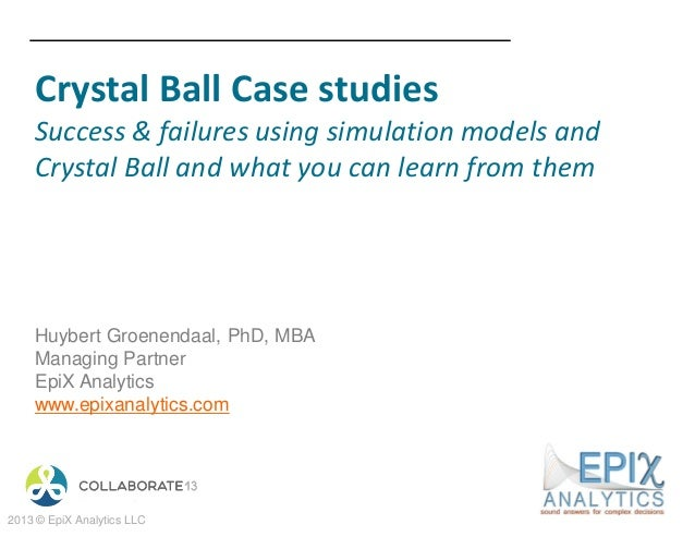 205420 crystal ball case studies
