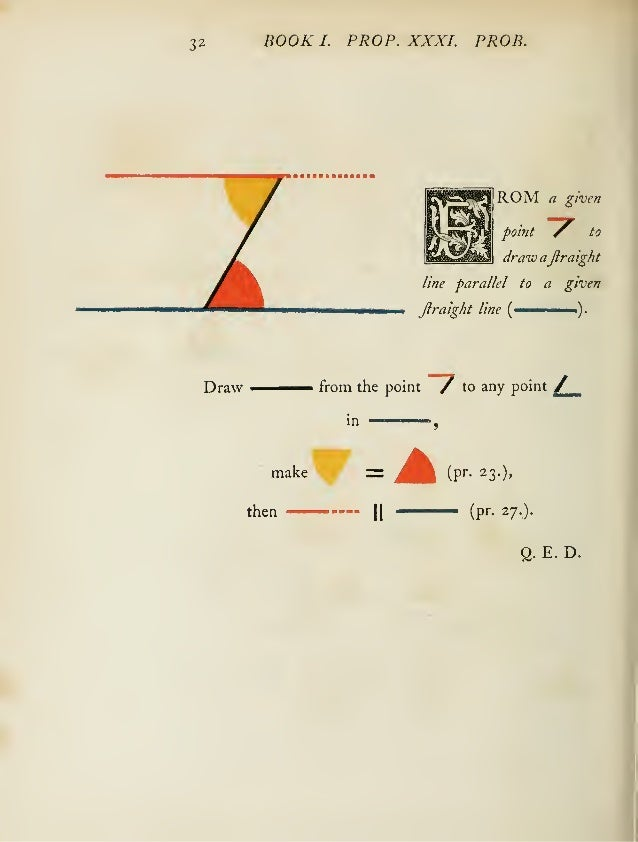 Oliver Byrne,The First Six Books of the Elements of Euclid