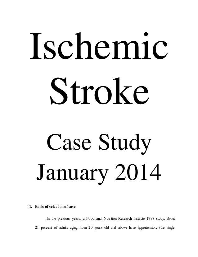 205804404 ischemic-stroke-case-study
