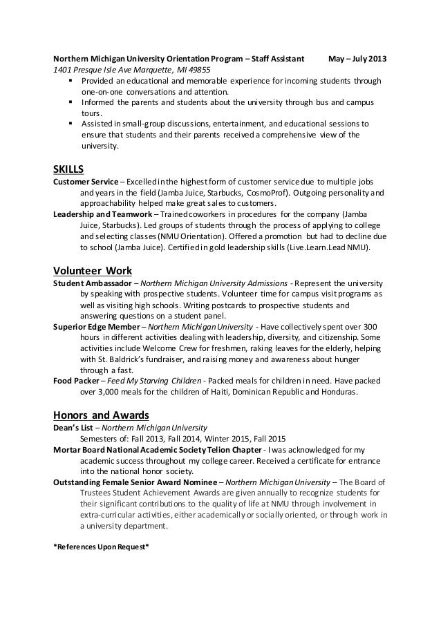 completed resume