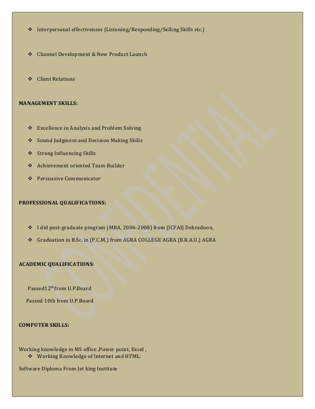 brajesh resume