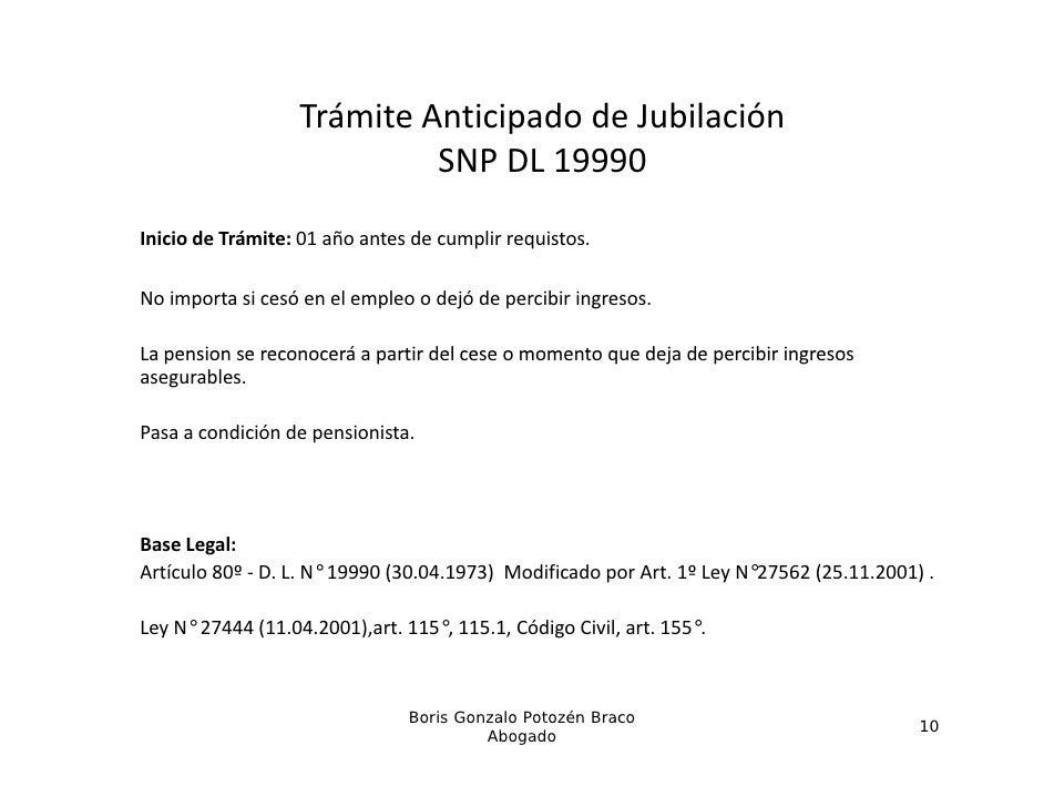 TrámiteAnticipadodeJubilación                            SNPDL19990                            S       9990Iniciode...