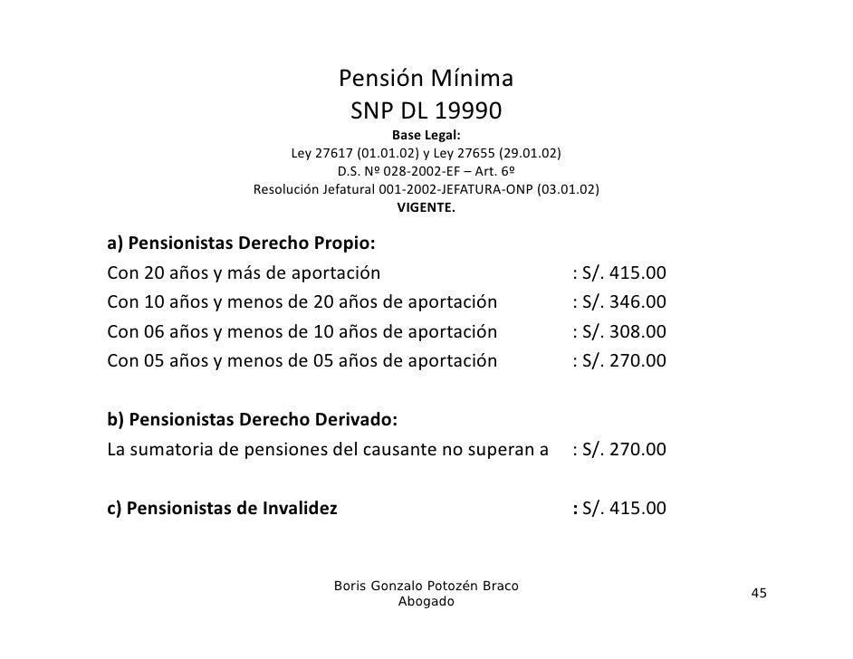 PensiónMínima                                SNPDL19990                                        BaseLegal:            ...