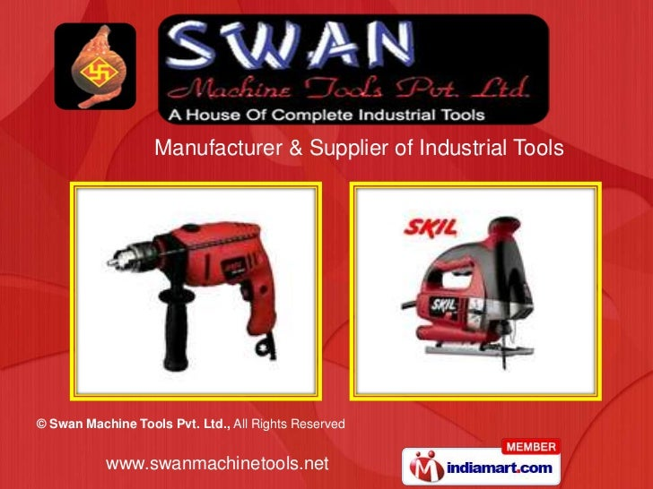 Manufacturer & Supplier of Industrial Tools<br />
