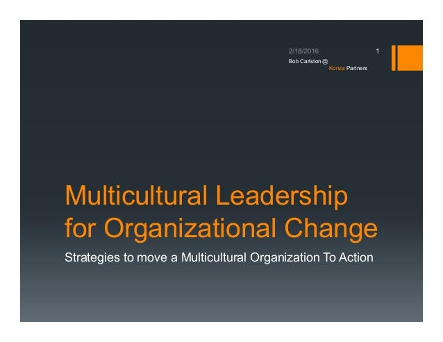 what is multicultural leadership