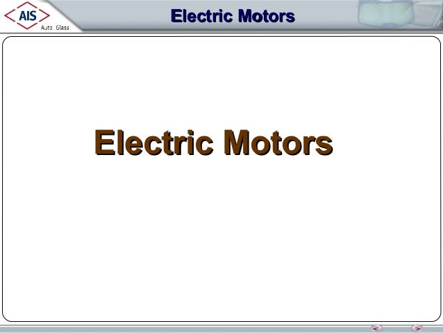 Electric Motors  Electric Motors