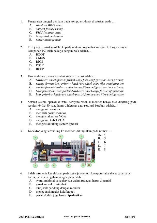 2063 stk-paket a-teknik komputer dan jaringan Slide 2