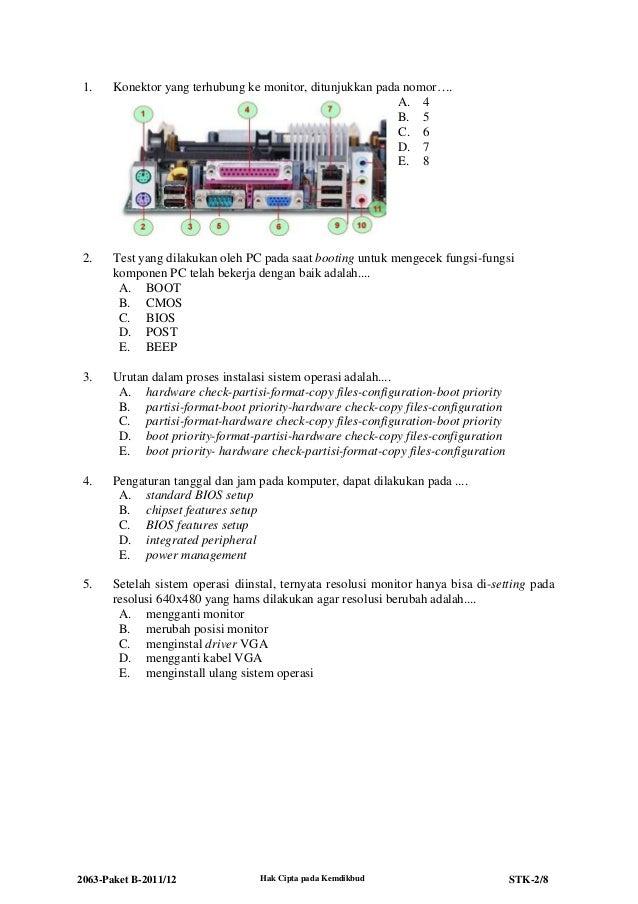 2063 stk-paket b-teknik komputer dan jaringan Slide 2