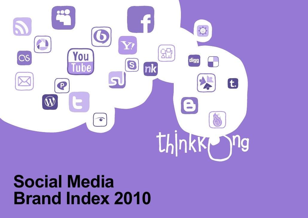 Social MediaBrand Index 2010