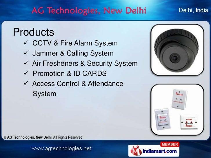 Cctv Products By Ag Technologies New Delhi New Delhi
