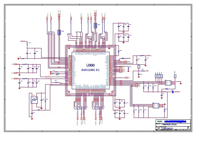 T Con Board Circuit Diagram - Wiring Diagram Completed