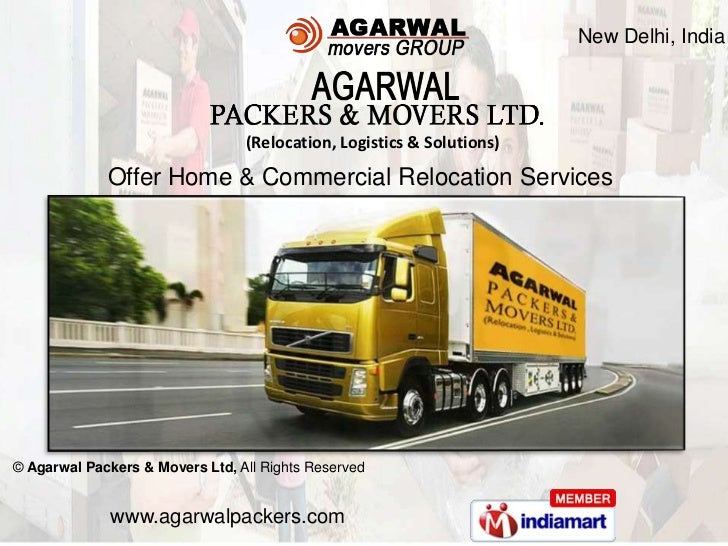 New Delhi, India                                 (Relocation, Logistics & Solutions)             Offer Home & Commercial R...