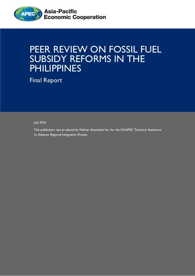 July 2016 This publication was produced by Nathan Associates Inc. for the US-APEC Technical Assistance to Advance Regional...