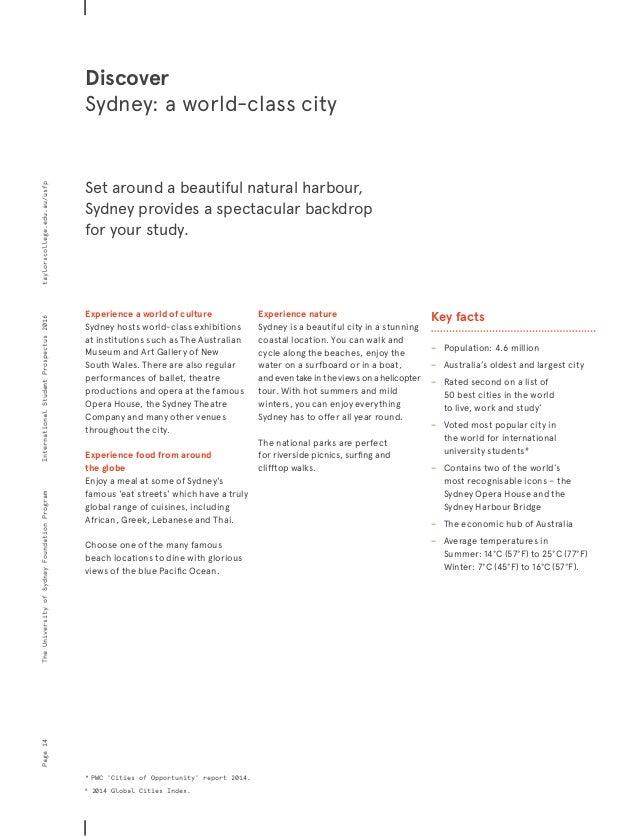 bachelor of commerce liberal studies university of sydney 2014 handbook